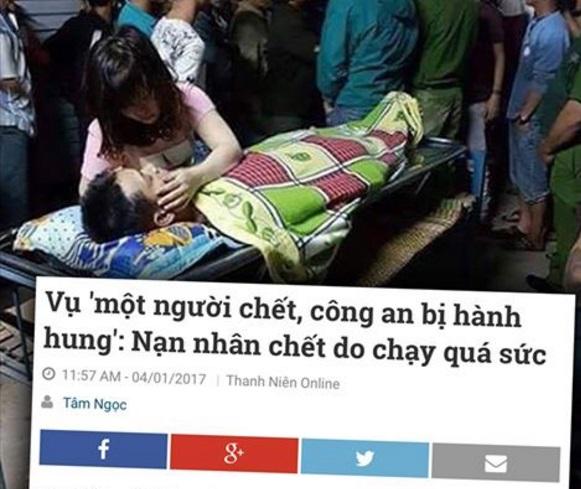 Vụ chết người ở Bình Định: công an nói không đánh nạn nhân, dân nói có