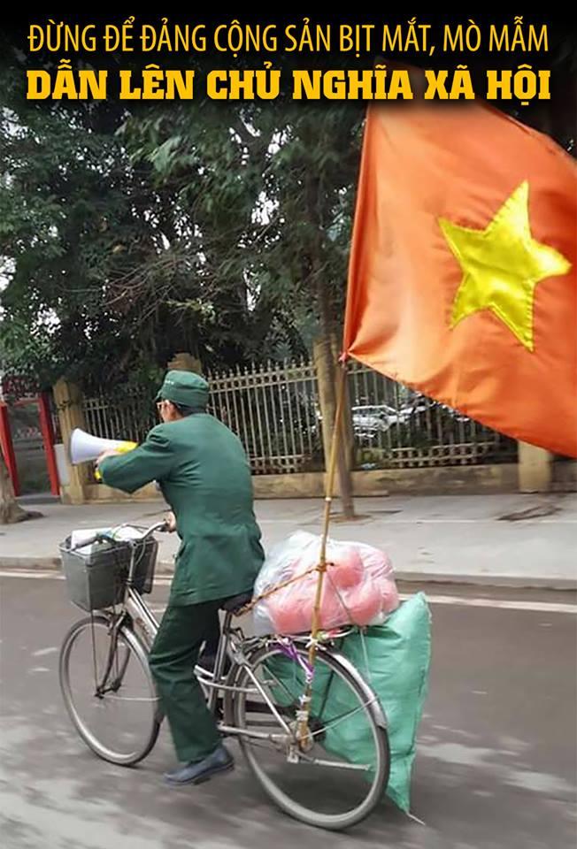 Đừng nên để đảng cộng sản bịt mắt, mò mẫm dẫn lên chủ nghĩa xã hội (Đặng Xương Hùng)