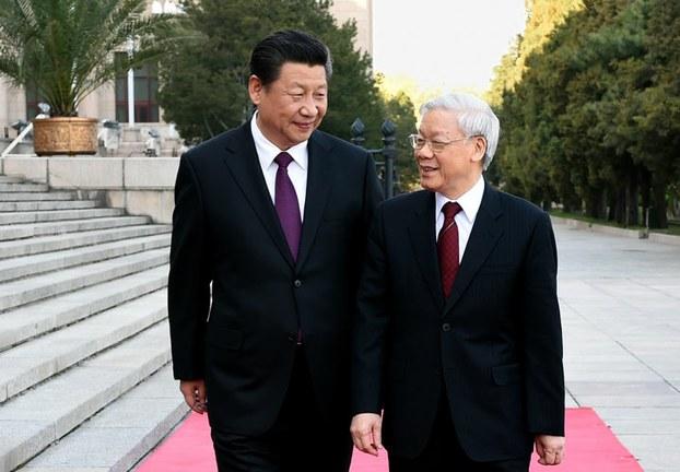 Nguyễn Phú Trọng tỏ rõ thái độ khuất phục Trung Cộng