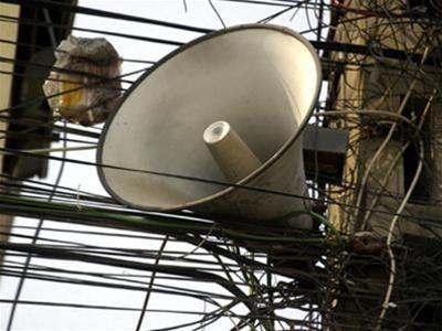 Website lấy ý kiến về loa phường Hà Nội bị tấn công