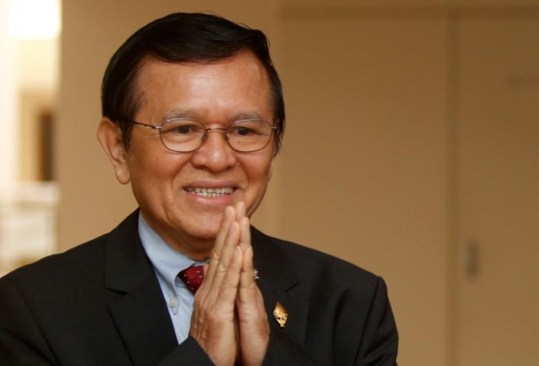 Lãnh tụ đối lập Cambodia Rainsy từ chức, cử người phó lên thay