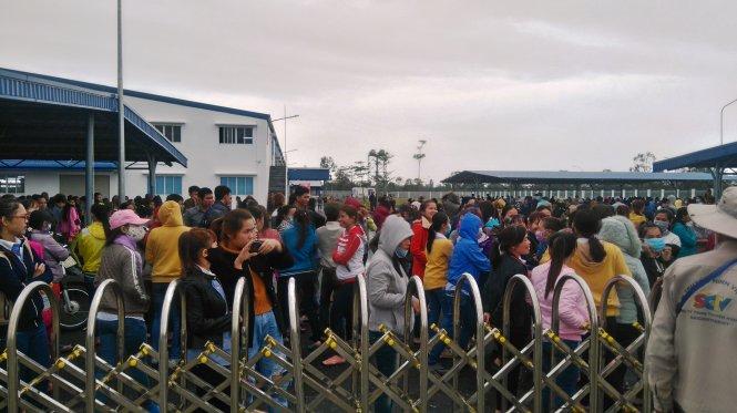 1,000 công nhân Onewoo Quảng Nam đình công sang ngày thứ nhì