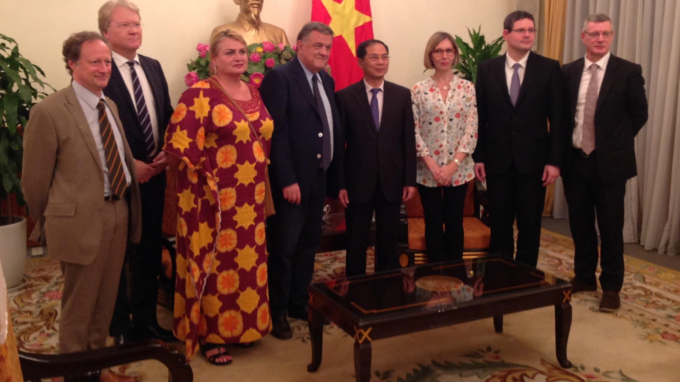 Nghị sĩ Panzeri nói Liên Âu khó ký thương ước với Việt Nam vì những vi phạm nhân quyền