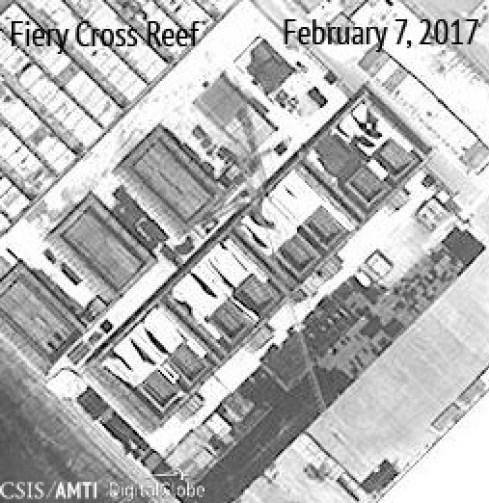 CSIS công bố ảnh vệ tinh Trung Cộng sắp hoàn tất kho chứa hỏa tiễn ở Trường Sa
