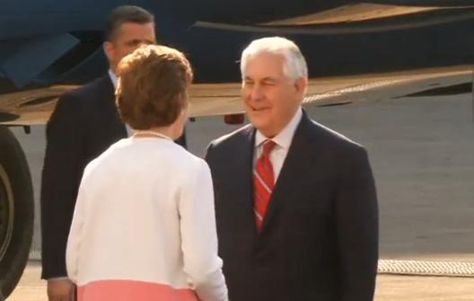 Ngoại trưởng Rex Tillerson đến Mexico để đàm phán