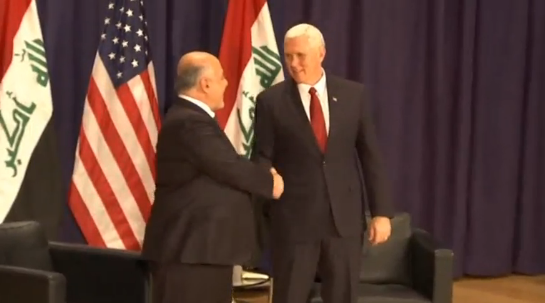 Phó Tổng Thống Mike Pence gặp thủ tướng Iraq Abadi bên lề hội nghị an ninh Munich