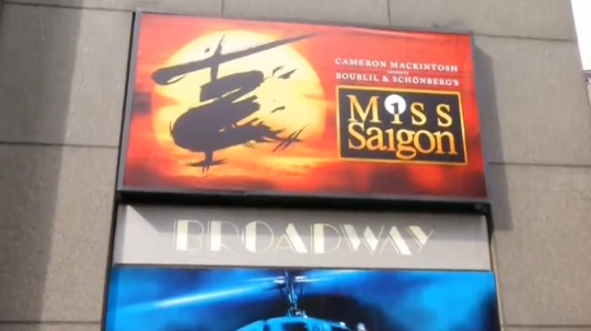Vở nhạc kịch 'Miss Saigon' trở lại sân khấu Broadway