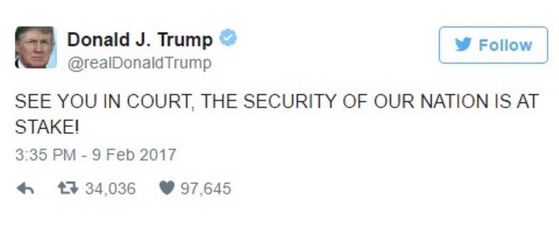 Tòa Kháng Án từ chối phục hồi lệnh cấm di dân của ông Trump