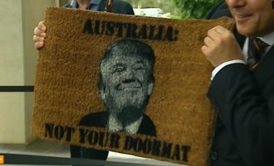 Thượng Nghị Sĩ Xenophom nói Úc không phải là tấm thảm chùi chân của Hoa Kỳ