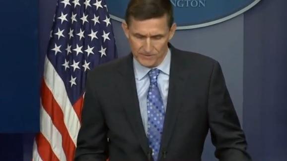 Cố vấn an ninh quốc gia Michael Flynn từ chức vì liên lạc với Nga