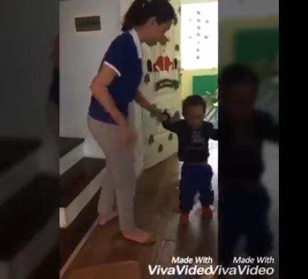 2 cô giáo nhà trẻ hành hạ trẻ em tại Hà Nội