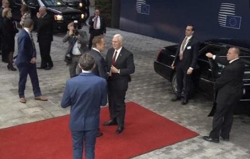 Phó Tổng Thống Mike Pence thăm Brussels, trấn an liên minh Châu Âu