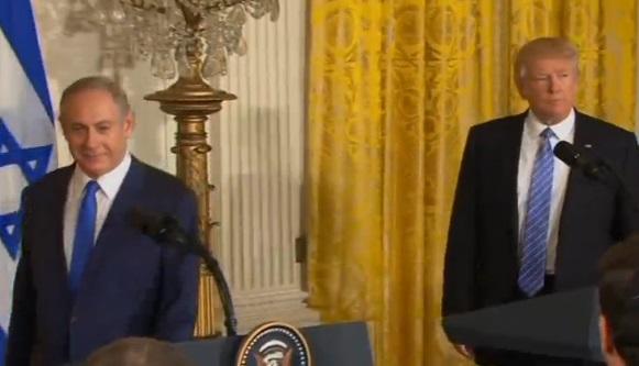 Ông Trump tuyên bố thỏa thuận hòa bình phụ thuộc vào người Israel và Palestines