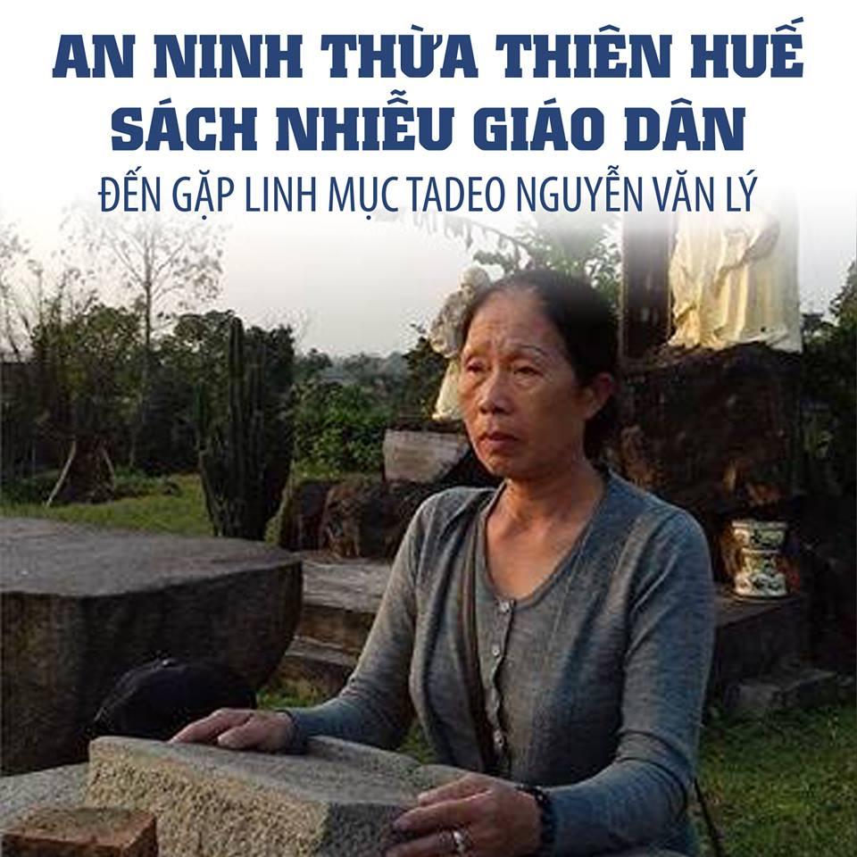 Công an Thừa Thiên Huế tiếp tục làm khó dễ giáo dân đi thăm Linh Mục Nguyễn Văn Lý tại Huế