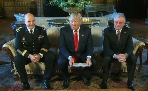 Tổng Thống Trump chọn Trung Tướng H.R. Mcmaster làm cố vấn an ninh quốc gia