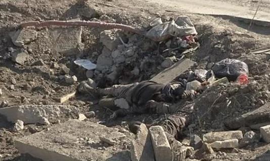 Quân đội Iraq dùng tử thi phiến quân ISIS để làm chiến tranh tâm lý