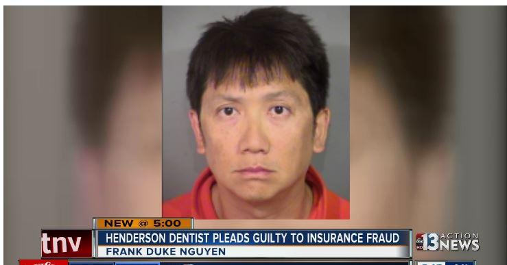 Nha sĩ gốc Việt tại Nevada nhận tội lừa công ty bảo hiểm