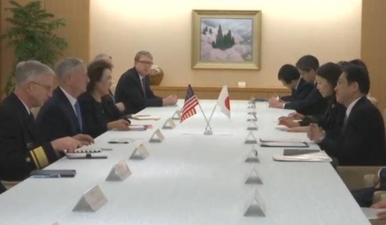 Bộ Trưởng Quốc Phòng Hoa Kỳ đến Nhật tái cam kết thi hành hiệp ước an ninh