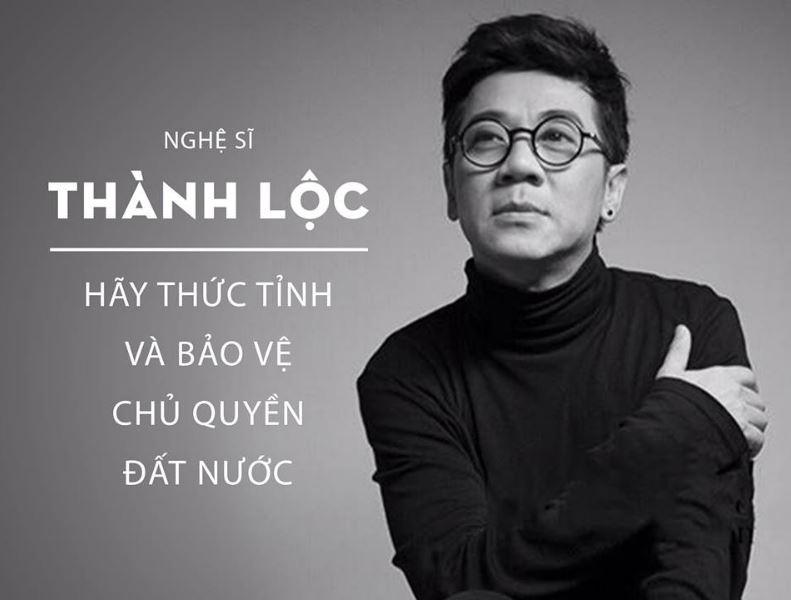 Nghệ sĩ Thành Lộc kêu gọi người dân thức tỉnh bảo vệ chủ quyền đất nước
