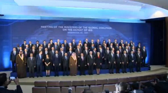 Các nhà ngoại giao từ 68 quốc gia tham dự cuộc họp của liên minh chống ISIS