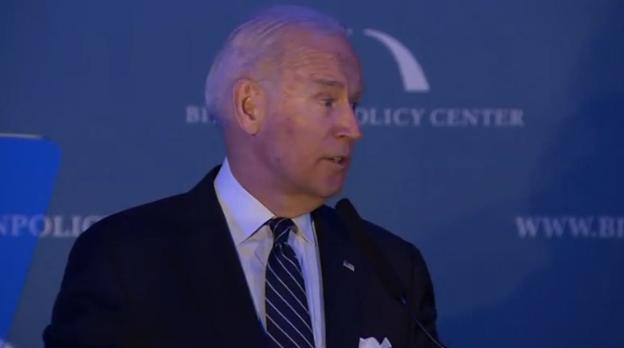 Cựu phó tổng thống Joe Biden được trao giải lãnh đạo xuất sắc