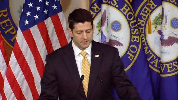 Chủ Tịch Hạ Viện Paul Ryan không thấy lý do để ông Sessions tự rút ra khỏi các cuộc điều tra Nga