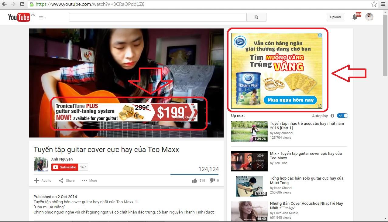 Chưa chạm được Youtube, Bộ Thông Tin CSVN dọa các doanh nghiệp quảng cáo trên Youtube