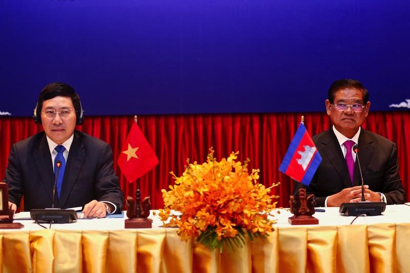 Việt Nam cam kết lùi xa khu vực biên giới với Cambodia