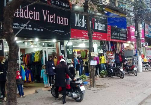 Hàng 'Made In Vietnam' được thế giới tin tưởng hơn hàng 'Made In China'