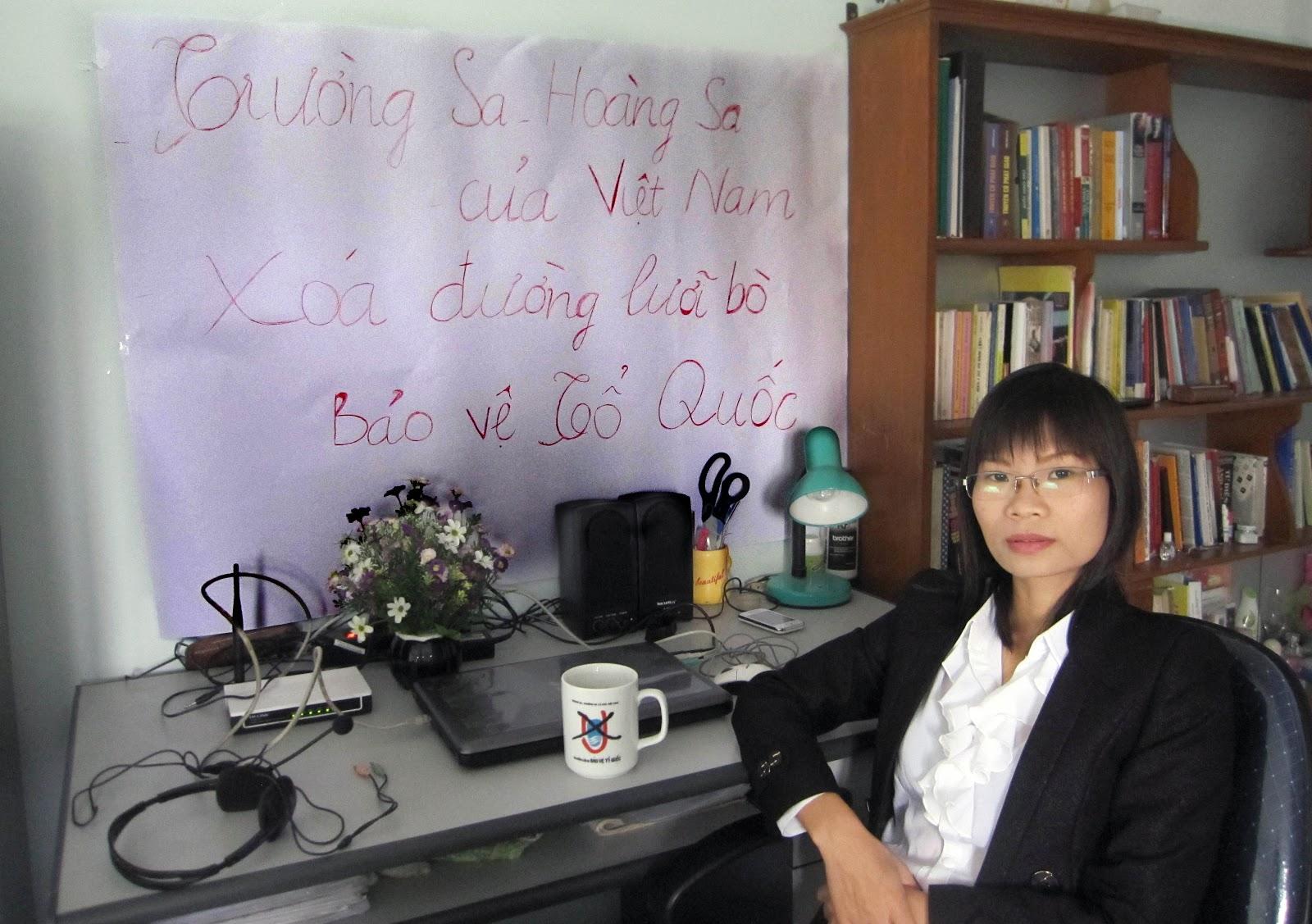 Cựu TNLT Phạm Thanh Nghiên vào danh sách chung kết Giải Nhân Quyền của Front Line Defenders