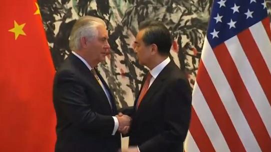 Hoa Kỳ & Trung Cộng cùng làm việc về Bắc Hàn
