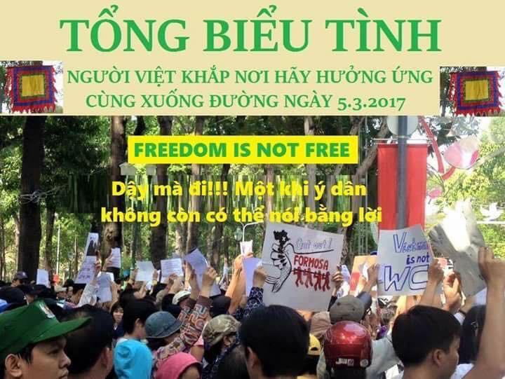 Linh mục Nguyễn Văn Lý kêu gọi tổng biểu bình ngày 05/03/2017