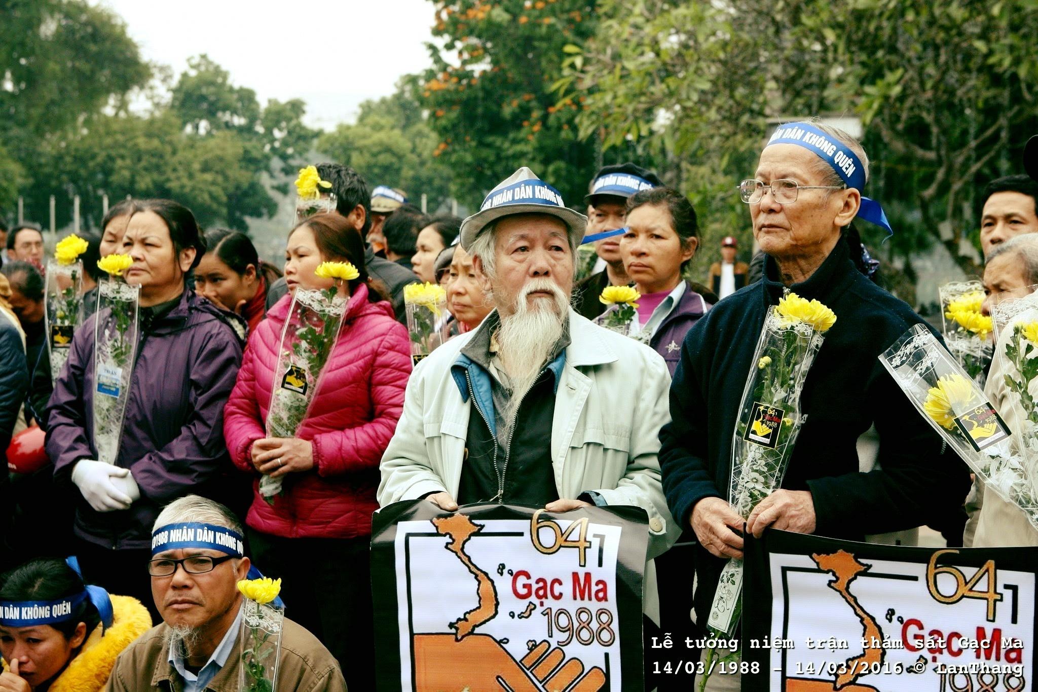 CLB No-U Hà Nội kêu gọi người dân tưởng niệm trận chiến trên đảo Gạc Ma