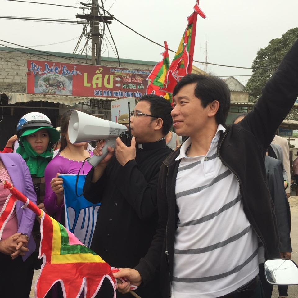 Đài truyền hình Việt Nam và Nghệ An vu khống linh mục Đặng Hữu Nam và Nguyễn Đình Thục