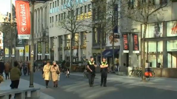 Một người bị bắt tại Bỉ vì lao xe vào người đi bộ