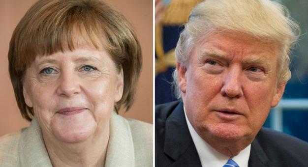Merkel công du Washington, phản đối chính sách ngoại thương của Trump