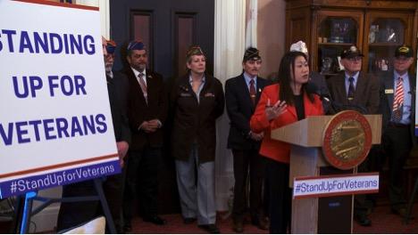 TNS Janet Nguyễn và đồng viện thông báo các dự luật giúp cựu chiến binh California