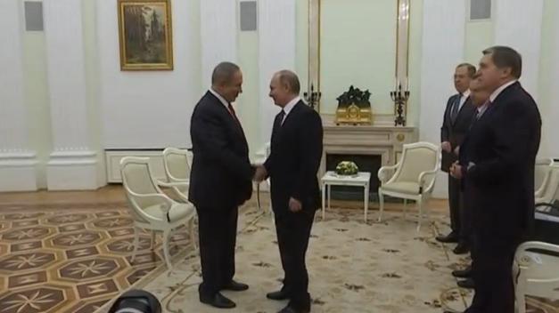 Putin, Netanyahu hội đàm tại Moscow