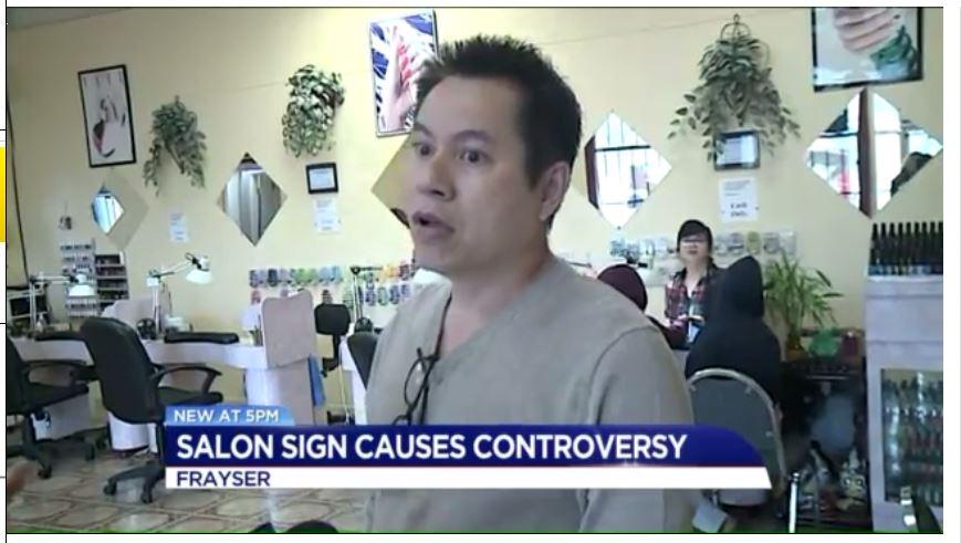 Chủ tiệm nail Việt ở Memphis bác bỏ việc treo bảng tăng giá với người quá cân