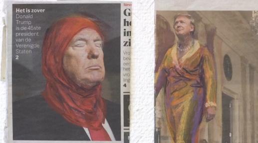 Triễn lãm ảnh phản đối Tổng Thống Donald Trump & Widers – lãnh tụ cực hữu Hoà Lan