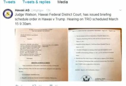 Hawaii là tiểu bang đầu tiên kiện sắc lệnh tạm thời cấm công dân 6 quốc gia Hồi Giáo vào Hoa Kỳ