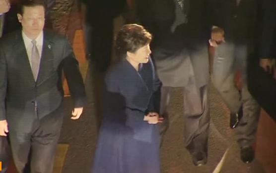 Tổng thống Nam Hàn bị truất phế rời Blue House