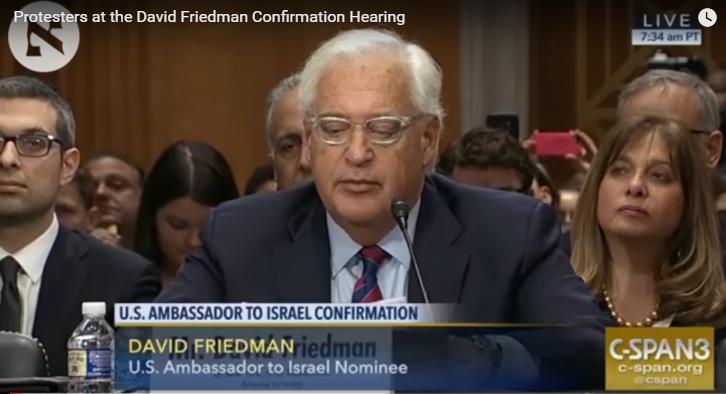 Thượng viện xác nhận David Friedman là đại sứ Hoa Kỳ tại Israel