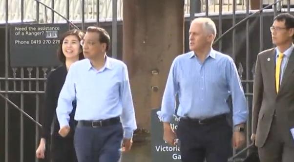 Thủ tướng Trung Cộng công du 5 ngày tại Úc & New Zealand