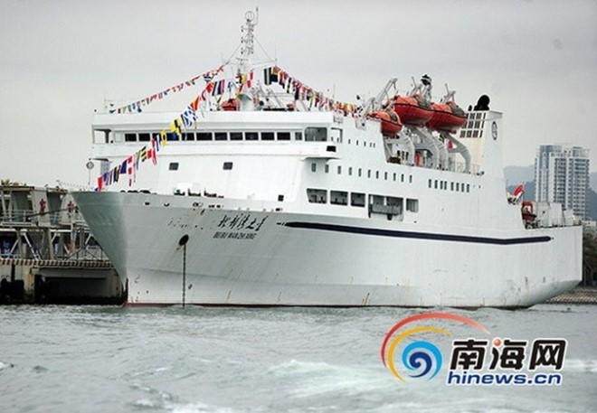 Trung Cộng đưa thêm tàu du lịch ra Hoàng Sa