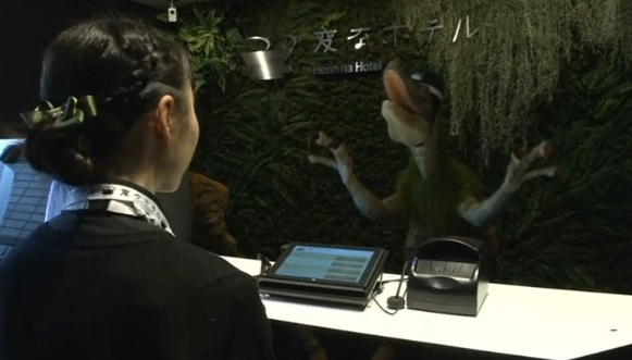 Khách sạn tự động hóa thứ 2 ở Nhật Bản khai trương