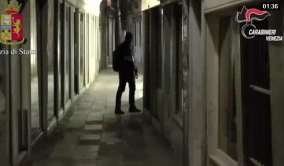 Cảnh sát Ý bắt giữ 3 nghi can âm mưu đánh bom Venice
