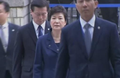 Cựu tổng thống Nam Hàn bị truất phế  điều trần trước toà