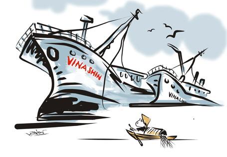 """Thủ tướng Phúc có xuất ngân sách để 'đổ vỏ"""" 63 ngàn tỷ đồng cho Vinashin?"""