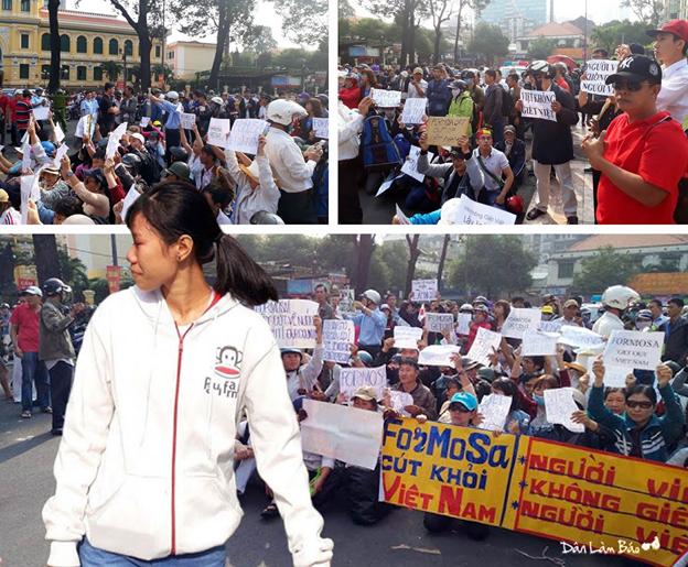 Hiện tượng biểu tình môi trường ngày 5/3 tại Sài Gòn: toàn người mới!